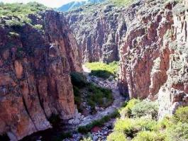 Patagonie, Cuesta de Miranda