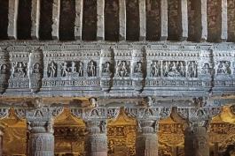 Maharashtra, Ajanta (grottes)