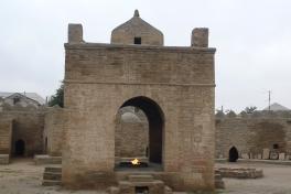 Région de Bakou, Ateshgah (temple du Feu)