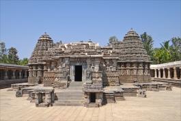 Karnataka, Belur (temple de Chenna Kesava)