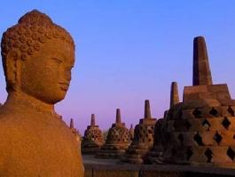 Ile de Java, Borobudur (temple)