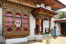 Thimphu (env.), Chime Lakhang (monastère)