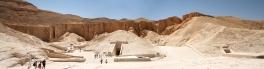 Haute Egypte, Nécropole thébaine