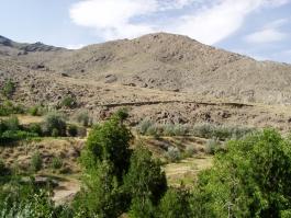 Centre, montagne de Nurata