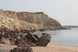 Golfe persique, île d'Hengam