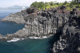 Ile de Jeju, Jusangjeollidae (formations volcaniques)