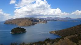 Région La Paz, lac Titicaca