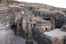 Maharashtra, Ellora (grottes)