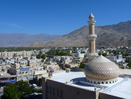 Nord Est, forts d'Oman