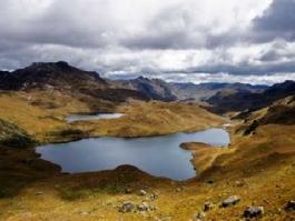 Sierra sud, El Cajas (parc national)