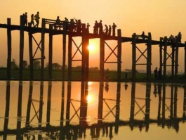 Mandalay, U Bein (pont)