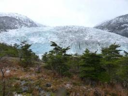 Glacier Pio XI, Patagonie