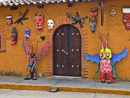 Centre, San Martin Tilcajete (Oaxaca)