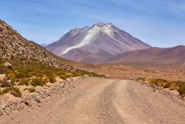 Sud, Ollagüe (volcan)