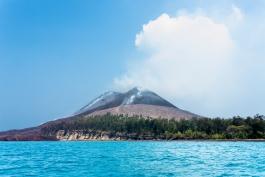 Java, Krakatau (volcan)