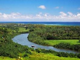 Kauai - Wailua river