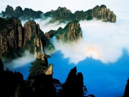 Chine du Sud, Huangshan (Monts)