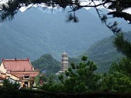 Chine du Sud, Jiuhuashan (mont)