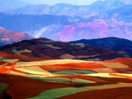 Yunnan, Dongchuan (vallées)