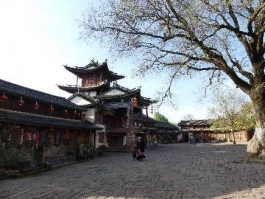 Yunnan, Shaxi (bourg)