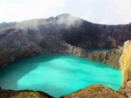 Ile de Flores, Kelimutu (mont)