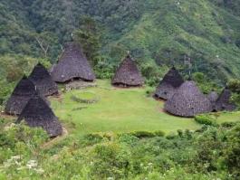 Ile de Flores, Wae Rebo (village)