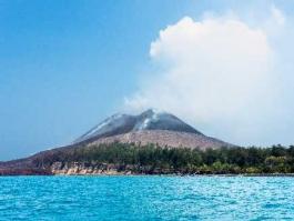 Ile de Java, Krakatau (volcan)