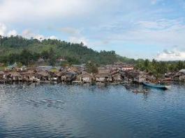 Ile de Sulawesi, Poso (lac)