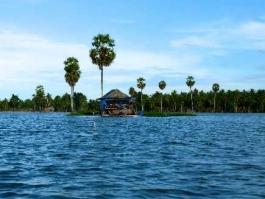Ile de Sulawesi, Tempe (lac)