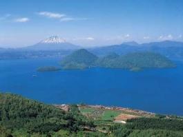 Hokkaidō, Tōya (lac)