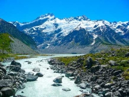 Ile Sud, Aoraki/Mount Cook (parc national)