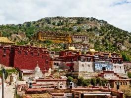 Tibet, Ganden (monastère)