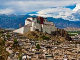 Tibet, Shigatsé