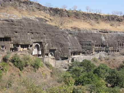 Ajanta (grottes), Maharashtra
