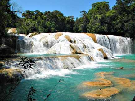 Chiapas, Agua Azul (cascades)