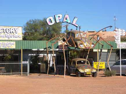 Coober Pedy (Australie Méridionale)
