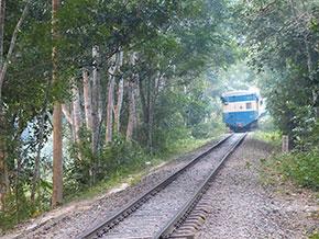 Train de Sylhet à Chittagong