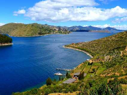 Yumani (isla del Sol, lac Titicaca)