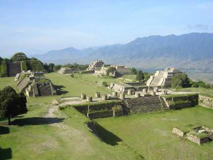 Monte Albán (Etat d'Oaxaca)