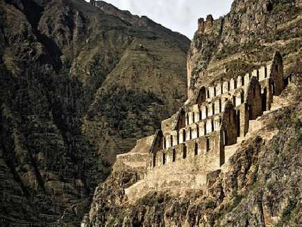Ollantaytambo (forteresse), Cuzco
