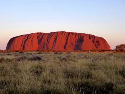 Ayers Rock - Uluru (Centre Rouge)