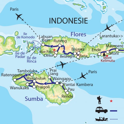 Carte : Indonésie - Sumba - Florès, Vendredi Saint à Larantuka